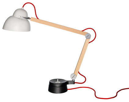eclectic table lamps by HORNE