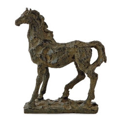 "IMAX - Black Beauty Horse - Black Beauty Horse Item Dimensions: (10.5""h x 9.5""w x 5.5"")"