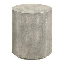 Hickory White - Hickory White Shagreen Drink Table 903-25 - Hickory White Shagreen Drink Table 903-25.