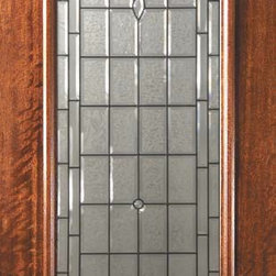 "Slab Entry Single Door 96 Wood Mahogany Palacio 1 Panel 3/4 Lite - SKU#    P21192-GBrand    GlassCraftDoor Type    ExteriorManufacturer Collection    3/4 Lite Entry DoorsDoor Model    PalacioDoor Material    WoodWoodgrain    MahoganyVeneer    Price    1025Door Size Options      +$percent  +$percent  +$percent  +$percentCore Type    Door Style    Door Lite Style    3/4 LiteDoor Panel Style    1 PanelHome Style Matching    Door Construction    PortobelloPrehanging Options    SlabPrehung Configuration    Single DoorDoor Thickness (Inches)    1.75Glass Thickness (Inches)    Glass Type    Triple GlazedGlass Caming    Oil Rubbed Bronze , Satin NickelGlass Features    Tempered , BeveledGlass Style    Glass Texture    Glass Obscurity    Door Features    Door Approvals    Wind-load Rated , FSC , TCEQ , AMD , NFRC-IG , IRC , NFRC-Safety GlassDoor Finishes    Door Accessories    Weight (lbs)    295.2Crating Size    25"" (w)x 108"" (l)x 52"" (h)Lead Time    Slab Doors: 7 daysPrehung:14 daysPrefinished, PreHung:21 daysWarranty    One (1) year limited warranty for all unfinished wood doorsOne (1) year limited warranty for all factory?finished wood doors"