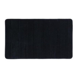 Mohawk - Mohawk Licorice 20 in. x 34 in. Memory Foam Bath Mat 046607 - Shop for Flooring at The Home Depot. If you prefer the durability and ease of care, the memory foam bath rugs fit the bill. Our memory foam bath mat cushions and pampers your feet for a luxurious feel. Make your bathroom look better with the addition of this beautiful bathroom mat.