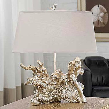 Eclectic Table Lamps by Candelabra