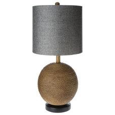 Mudhut™ Jute Sphere Table Lamp- Brown : Target