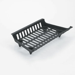 "VESTALMANUFACTURINGCO. - 23"" One Piece Cast Iron Grate - 23"" One Piece Cast Iron Grate, 23"" Front X 18"" Back X 12"" Deep, Leg Height 2 1/8"", 19lbs"