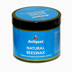Antiquax - Antiquax Natural Creamed Beeswax 250ml - Antiquax Natural Beeswax is based on pure natural beeswax for use on previously sealed surfaces and is made from the highest quality waxes to clean, polish and protect wooden furniture.