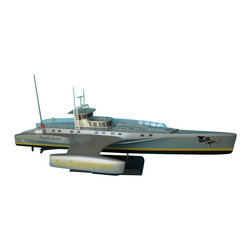 """Handcrafted Model Ships - Whale Wars - Brigitte Bardot Limited 14"""" - Sold Fully Assembled"""