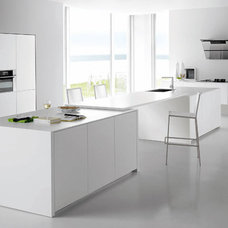 Beauty and Comfortable of White Kitchen Interior Idea white kitchen countertops