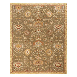 "Surya - Surya Kensington KEN-1039 (Beige) 5' x 7'9"" Rug - Intricate traditional designs are the cornerstone of the Kensington Collection. This collection combines the pattern and feel of traditional rugs, but provides an updated and modern color palette. The color combinations of these rugs were chosen to reflect the trends of the modern furniture market, to create an easy and comfort when adding the rugs to a home. These rugs are hand tufted from 100% wool. The ''Pantone'' colors include: Dark Chocolate (19-1012), Teal Blue (19-4820), Putty (13-0711), Caramel (15-1225), Khaki (15-1217), Maroon (19-1656), Cinnamon Spice (18-1244), Turtle Green (18-0527), Caviar (19-4006), Shadowy Mauve (16-1509)"