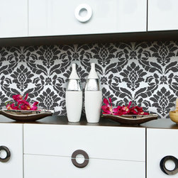 Classic Damask Stencil - Classic Damask Wall Stencil from Royal Design Studio Stencils. Stenciling your own custom wallpaper pattern is easy and you can customize with the color of your choice.