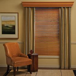 Hunter Douglas Parkland™ Wood Blinds - Hunter Douglas Parkland™ Wood Blinds and Cornice Boards
