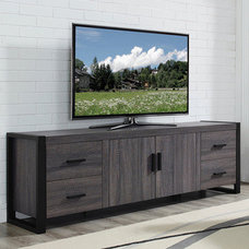 Serving Dishes And Platters 70 inch Charcoal Grey TV Stand