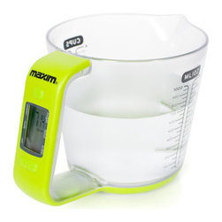 Maxim 2-In-1 Jug And Scales - For those of us who are inept at doing conversions, this liquid measure does all the thinking for you!