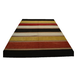 1800-Get-A-Rug - Embossed Raised Modern Hand Knotted Rug Sh12103 - About Modern & Contemporary