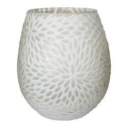 Lazy Susan - Lazy Susan Milk Bouquet Cut Vase - Lazy Susan MILK BOUQUET CUT VASE 464057