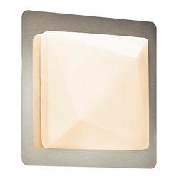 �lan A Kichler Company - �lan A Kichler Company 83038 Kapture 2 Light Bathroom Vanity Lights in Chrome - 1 Light Vanity