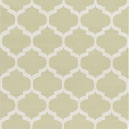 Artistic Weavers - Artistic Weavers Vogue Everly (Sage, White) 5' x 8' Rug - This Hand Woven rug would make a great addition to any room in the house. The plush feel and durability of this rug will make it a must for your home. Free Shipping - Quick Delivery - Satisfaction Guaranteed
