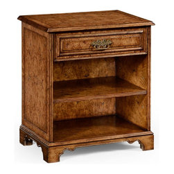 Jonathan Charles - New Jonathan Charles Night Stand Oak Rustic - Product Details