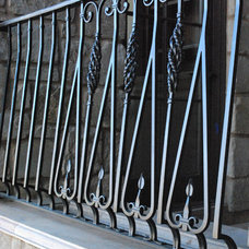 Traditional Exterior by Grizzly Iron, Inc