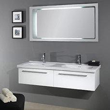 "55.5"" Nameeks Iotti Fly FL2 Bathroom Vanity :: Bathroom Vanities :: Bath Kitchen"
