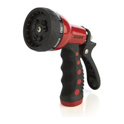 Dramm Red Revolver Spray Gun - The best-selling accessory from a maker of professional greenhouse and nursery watering tools features a convenient revolving head with quick-click pattern change. Comfortable grip is ideal for watering gardens and lawns, washing the car, rinsing off sand and cleaning the sidewalk.