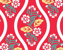 Chasing Paper - Vintage Flower Red S002101 Wallpaper Panel - Vintage Flower Red S002101 Wallpaper Panel is Self-adhesive.Collection name: Self Adhesive Wallpaper PanelSize of each panel is 2 feet by 4 feet.This floral wallpaper panel with vintage floral prints in red color gives a classic and elegant look to your home. Also, the wallpaper panel is removable and easy to install.