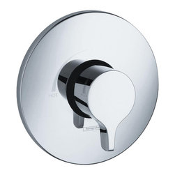 Hansgrohe - Hansgrohe 4355820 Metris Shower Trim - E/S Pressure Balance Trim .Temperature and Volume control for 1 unit . Lever handle . Flow 6.5 GPM @ 44 PSI . 7/8 inch shallow extension set # 13596x00