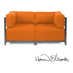 Howard Elliott Axis 2-piece Sectional Sterling - Howard Elliott Axis 2-piece Sectional Sterling