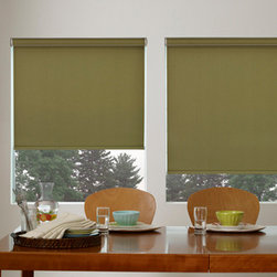 Roller Shades - Roller Shade, Small Cassette Valence, Oslo Brown