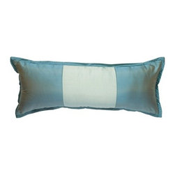 "Mystic Valley Traders - Profiles Turquoise 12"" x 30"" Large Boudior Accent Pillow - Features: -Profiles/turquoise 12"" x 30"" large boudoir accent pillow. -Available in several fabrics which are sold separately."