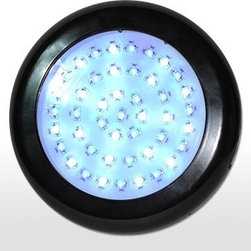 AquaUFO - AquaUFO LED Aquarium Light, Aquaufo (6500k- White/430-460 Nm Blue) - The all new 90 watt AquaUFO™ marine, & reef capable LED aquarium light exceeds the performance of a 500 watt Metal Halide and outperforms other LED capable lights costing twice as much. Simply put, it will rock your tank.