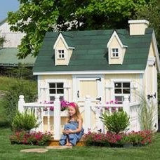 Traditional Outdoor Playhouses by Amazon