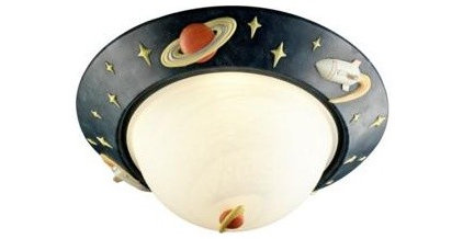 Set your child's imagination aloft with ceiling light fixtures ...