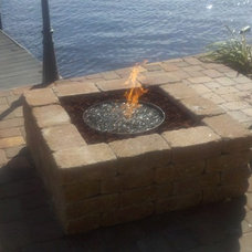 Traditional Fire Pits by Advanced Gas Services, INC