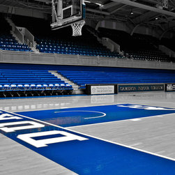 Cameron Indoor Stadium 2- Durham, Fine Art Photography Print, 10X15 - For all the Duke Blue Devils Basketball Fans a cool picture of Cameron Indoor Stadium. There is no better place to see a Basketball game!!!!!
