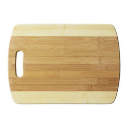 Bamboo Studio - Bamboo Studio Large Two Tone Cutting Board - Made from 100% natural aged bamboo wood.