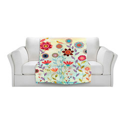DiaNoche Designs - Throw Blanket Fleece - Morning Hour - Original Artwork printed to an ultra soft fleece Blanket for a unique look and feel of your living room couch or bedroom space.  DiaNoche Designs uses images from artists all over the world to create Illuminated art, Canvas Art, Sheets, Pillows, Duvets, Blankets and many other items that you can print to.  Every purchase supports an artist!