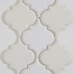 Beveled Arabesque Tile - Cafe Au Lait - Beveled Arabesque Tile - Cafe Au Lait- Sold Per SF (8 pcs per SF)