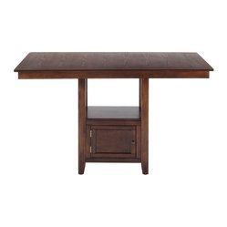 Jofran Olsen Oak 60x48 Rectangular Counter Height Table