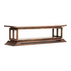 Tansu - Kondo Mahogany Bed End - The Kondo Bedroom Collection ...