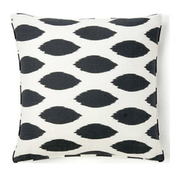 Jiti - African Spot Pillow - Jazz up your home decor with our African Spot Pillow!  Made from 100% Cotton. Invisible Zipper. DRY CLEAN ONLY. Insert is made of 95% feathers and 5% down.