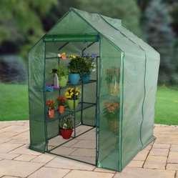 Bond Bloom Large Portable Green House with 4 Shelves