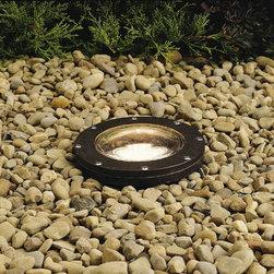 "Kichler - Kichler 15194AZ Landscape Architectural Bronze In Ground Well Light 15194AZ - Architectural Bronze finishBulb Included: No Finish: Architectural Bronze Height: 8.25"" Type: Accent Light Voltage: 12V Width: 7"""