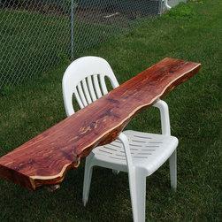 Red Cedar Mantel -