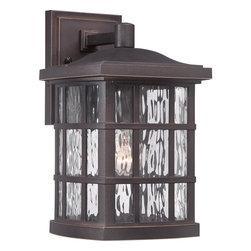 Quoizel Lighting - Quoizel Lighting SNN8408PN Stonington Outdoor Fixture - Outdoor wall plld brnz