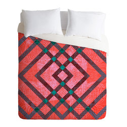 DENY Designs - Randi Antonsen Hoping For The Best Duvet Cover - Turn your basic, boring down comforter into the super stylish focal point of your bedroom. Our Luxe Duvet is made from a heavy-weight luxurious woven polyester with a 50% cotton/50% polyester cream bottom. It also includes a hidden zipper with interior corner ties to secure your comforter. it's comfy, fade-resistant, and custom printed for each and every customer.