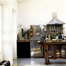 a note on design (a homey kitchen)