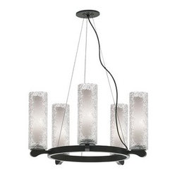LBL Lighting - LBL Lighting Rock Candy 5 5 Light Suspension Chandelier - Features: