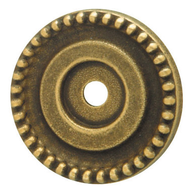 Hafele - Hafele 125.03.112 Brass Backplates for Knobs - Hafele item number 125.03.112 is a beautifully finished Brass Backplates For Knobs.