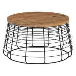 Apis Coffee Table - This is a cool piece. I worry the whole industrial-chic deal is on it's way out, but I love the combination of materials here. Plus, the proportions are spot on.