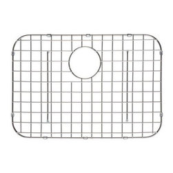 Ukinox - Ukinox GR610SS Stainless Steel Bottom Grid - Extend the life of your sink with Ukinox's custom fit stainless steel sink grid. Sleek and durable, this grid is designed for high volume residential kitchen usage. Features: Protects the bottom of your sink from scratches. Makes sink easier to clean. Great for drying glasses. Great for rinsing vegetables. Great for thawing meats.  Specifications: Total Product Length: 21 in. Total Product Width: 15 in. Total Product Thickness: 1 in. Product Weight: 1 lbs. Material: Stainless Steel.